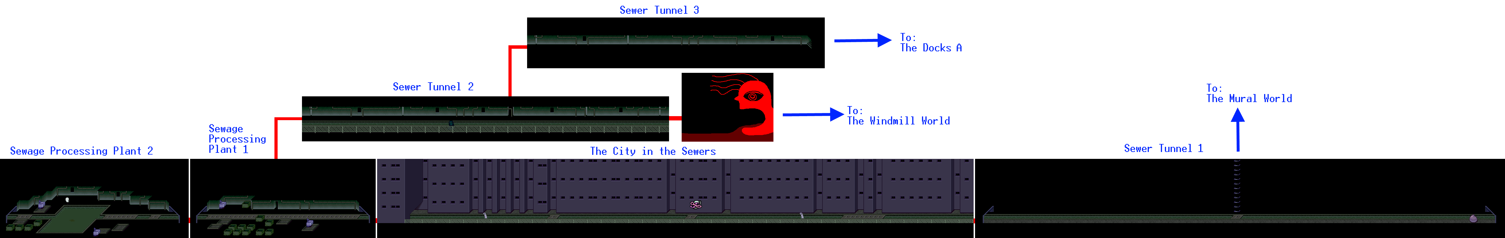 Sewer drawing tunnel. The sewers yume nikki
