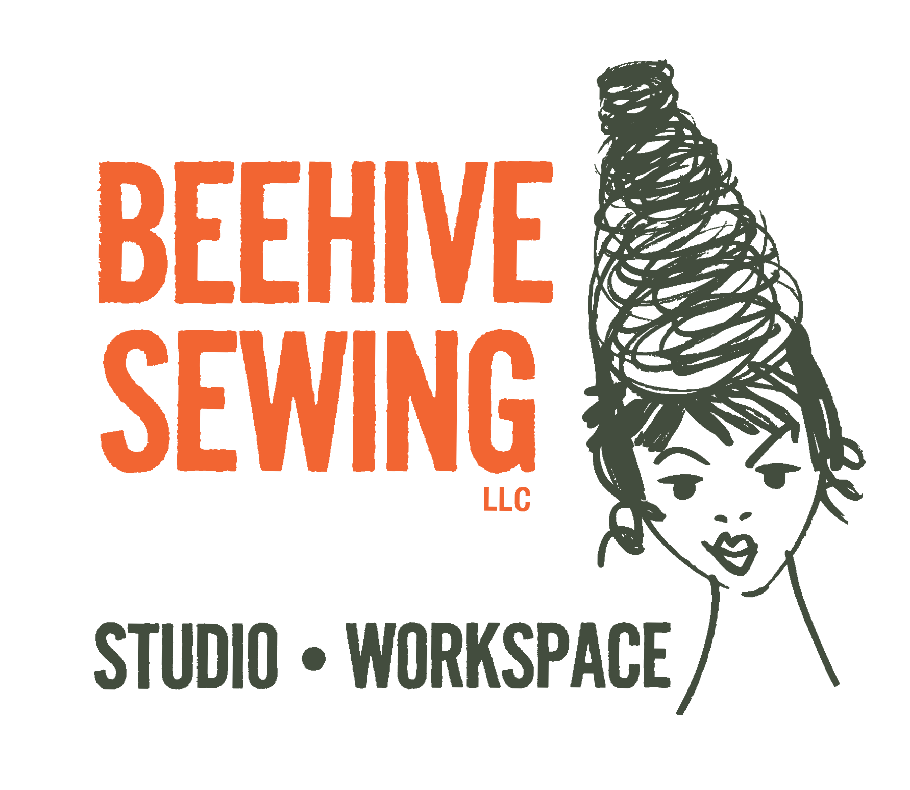 Sewing drawing supply. Supplies notions beehive studio