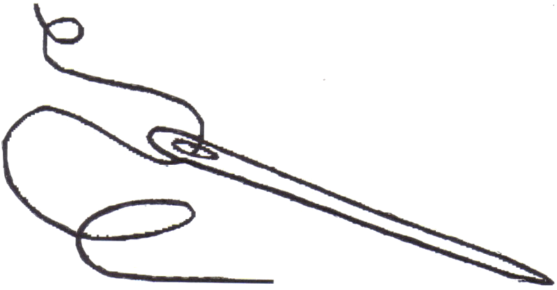 Sewing needle and thread png. Transparent images all image