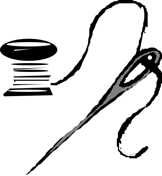 Sewing needle and thread png. Clip art at clker