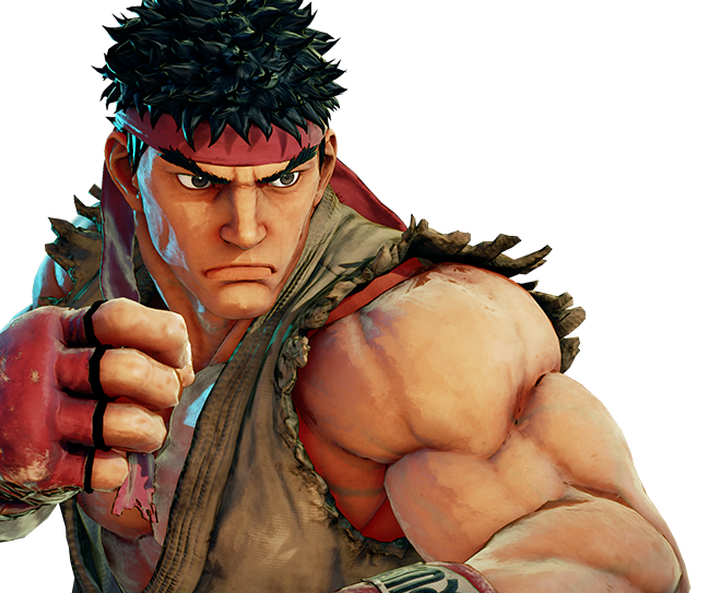 Sfv ryu png. Image the crossover game