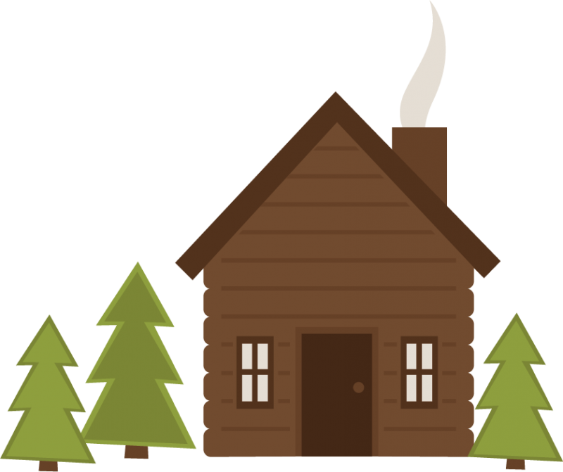 Cottage vector log house. Cabin png free transparent