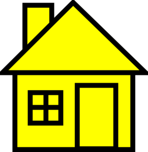 Shack vector. Yellowhouse clip art clipart
