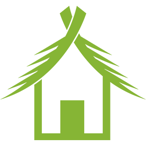 Collection of hut. Shack vector nipa picture transparent stock
