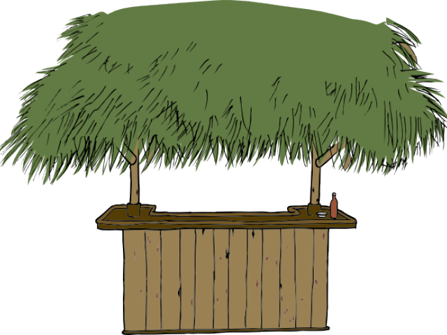 Shack vector nipa. Collection of free hoveling