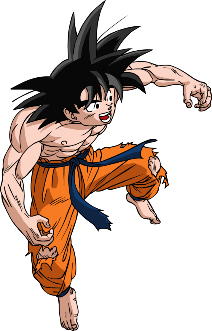 Shade drawing dragon ball z. Teen goku color by