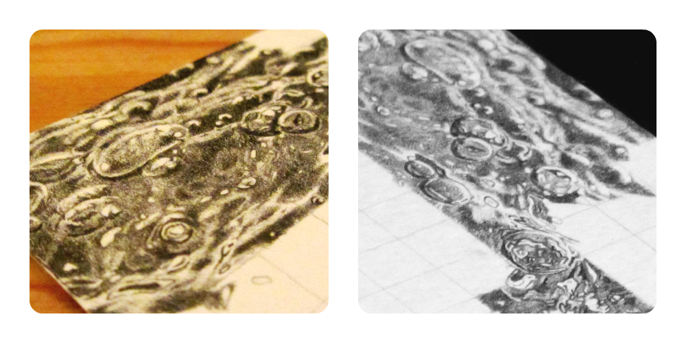 Ripples drawing water sketch. How to draw clare