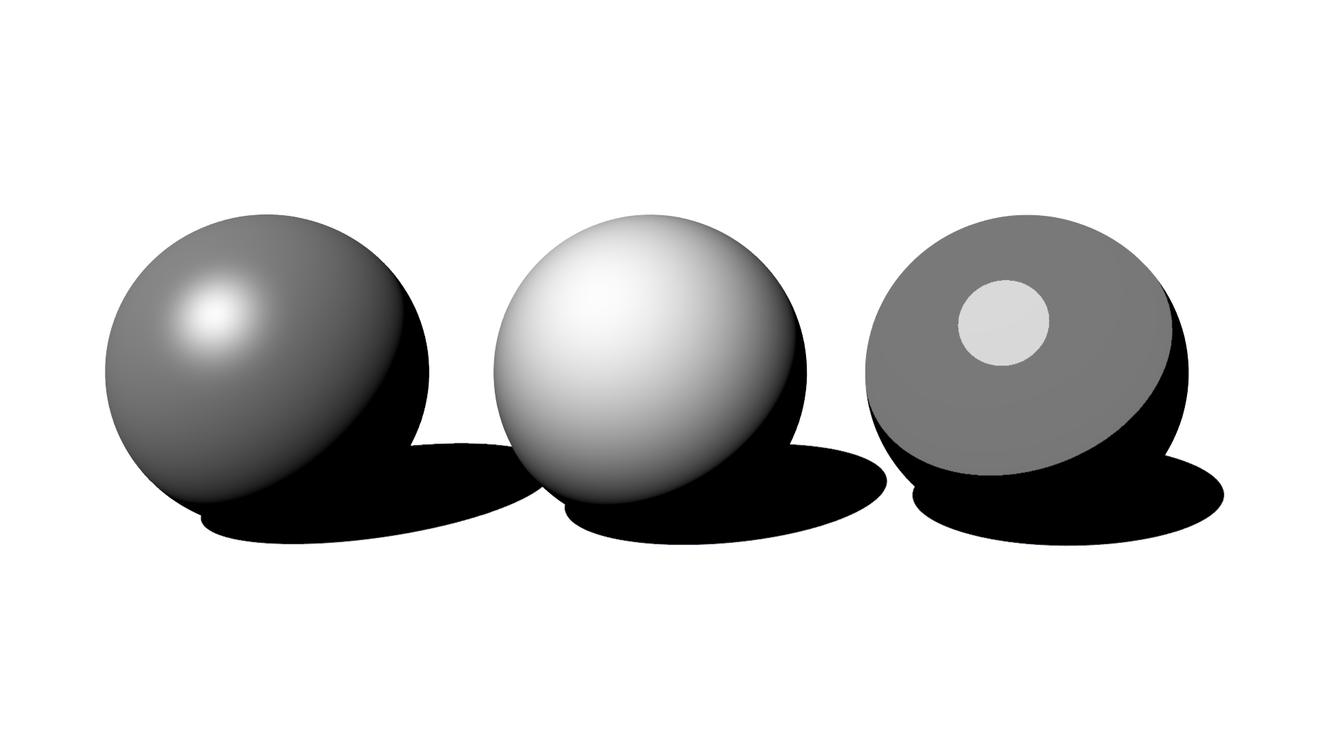 Drawing sphere shading. Spheres shaded png dcg