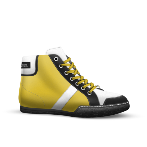 Shades drawing shoe. A custom concept by