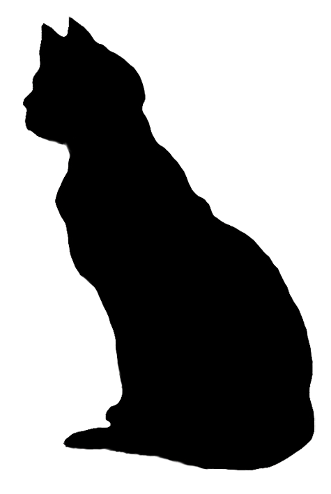 Cat legs png. Silhouette clip art looking