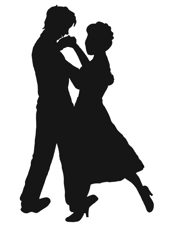 Shadow clipart couple. Silhouette at getdrawings com