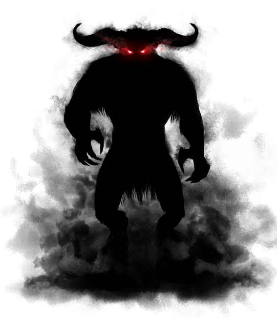 Shadow demon png. Image purepng free transparent
