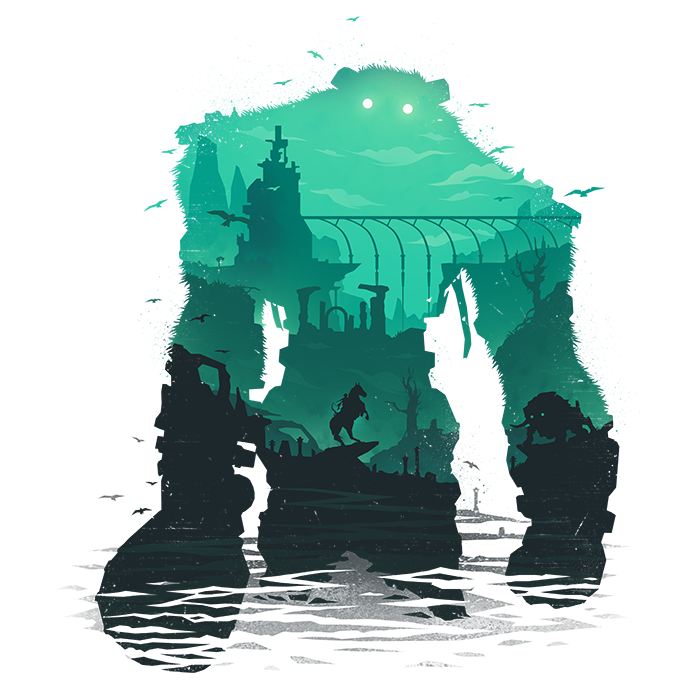 Shadow of the colossus png. Pinterest gaming video games
