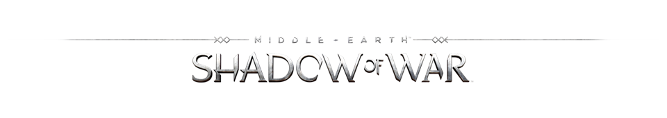 Shadow of war png. Middle earth silver gold