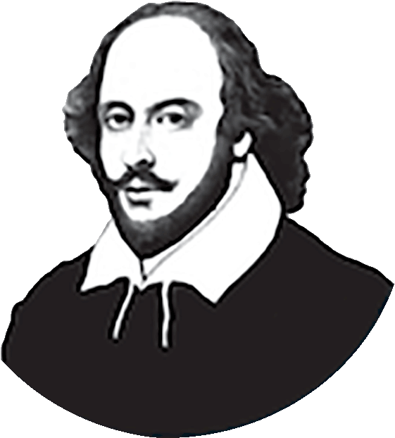 shakespeare transparent later