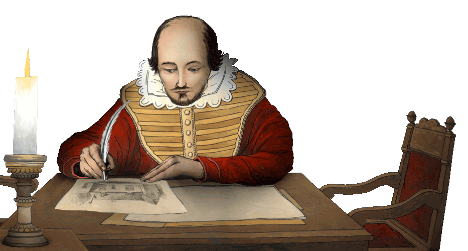 Shakespeare transparent life story. England s historic cities