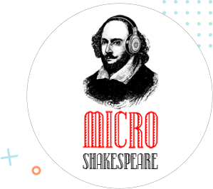 Shakespeare transparent later. Micro toti toronell as