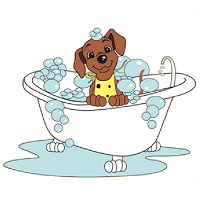 Yorkie clipart bath. Free dog washing cliparts