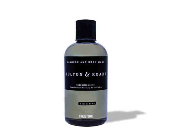 Shampoo drawing body wash. Fulton roark in and