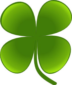 Shamrock clipart march flower. For clip art at
