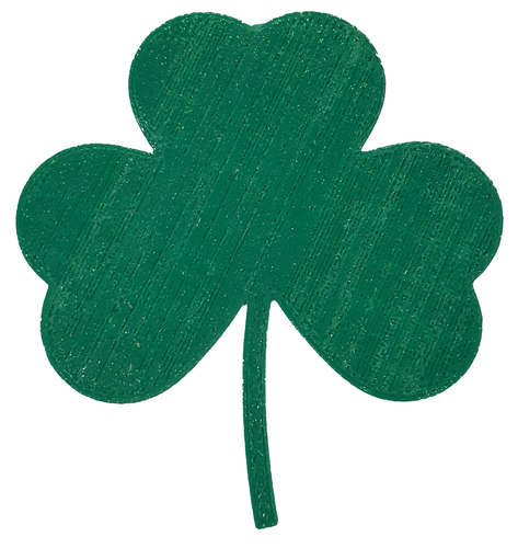 Shamrock clipart tiny. Picture of to print