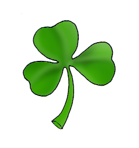 Shamrock clipart tiny. Pictures of leprechauns and