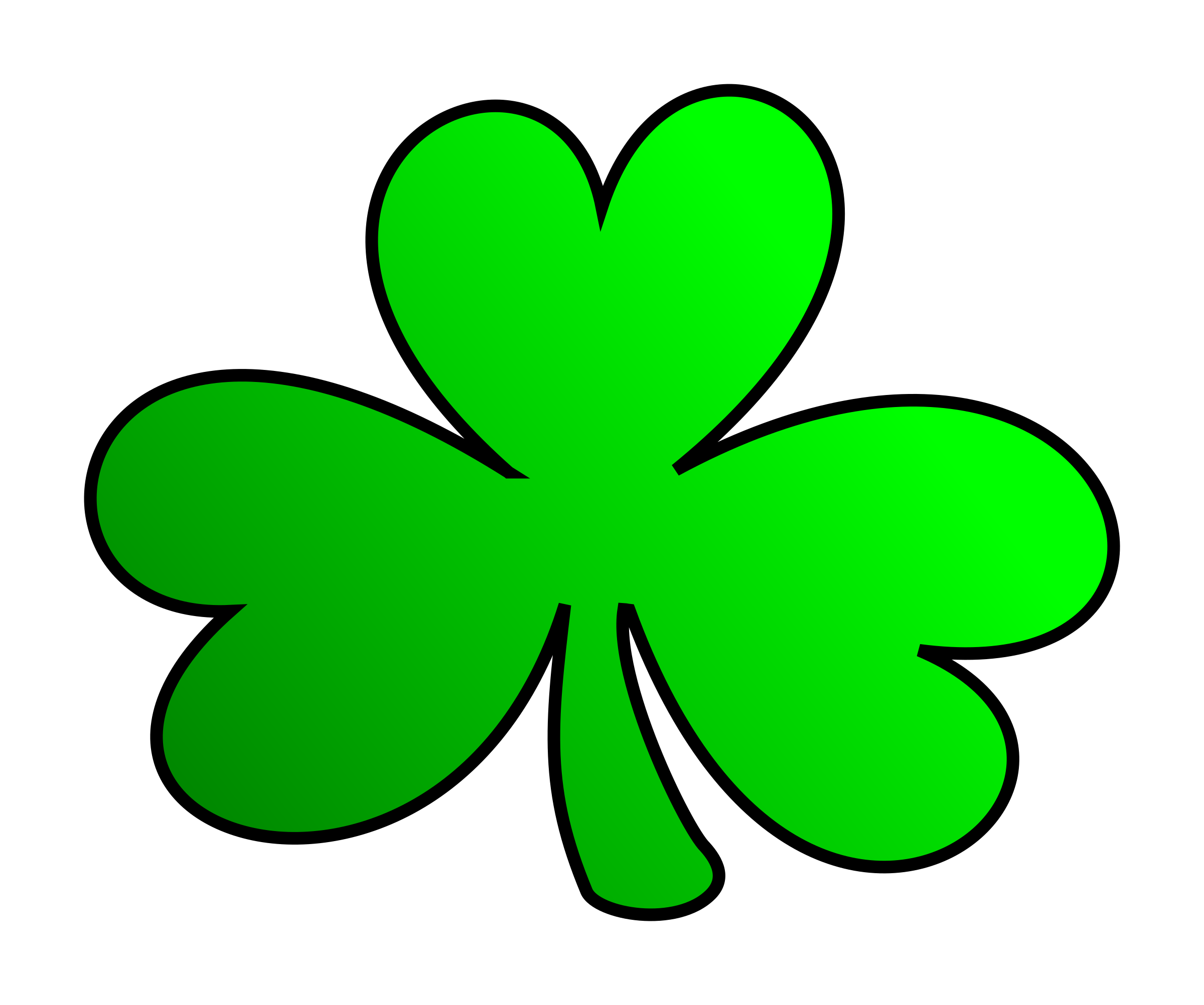 Green shamrock icons png. Clover clipart clover patch banner black and white library