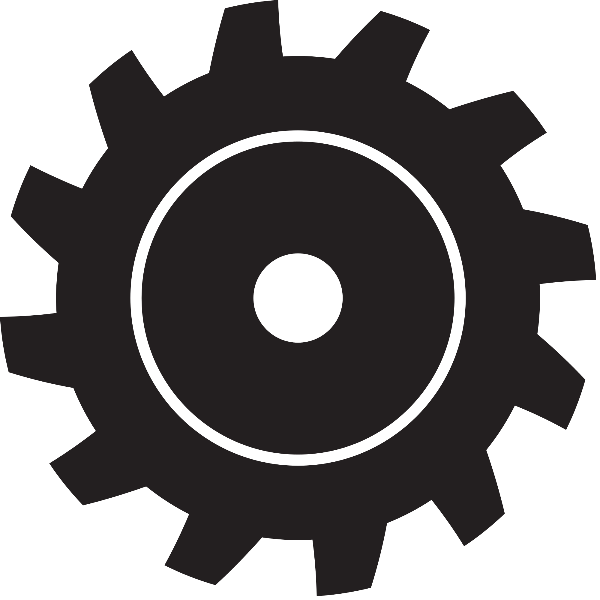 Svg gear black. File shape wikimedia commons