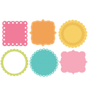 Shape svg silhouette cameo. Background shapes miss kate