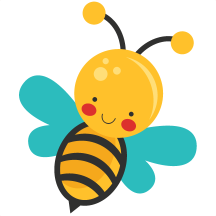 Shapes clipart bee. Freebie of the day