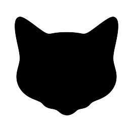 Shapes clipart cat. Free silhouette clip art