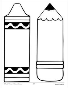 Shapes clipart crayon. Shape printable the box
