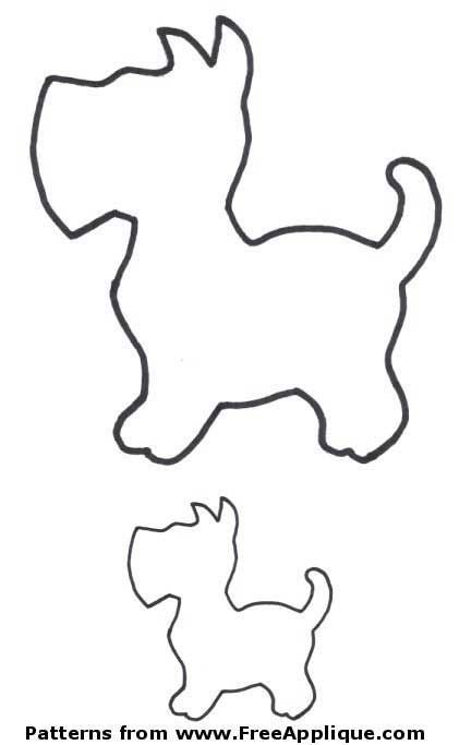 Shapes clipart dog. Best templates and
