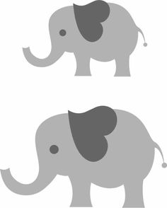 Shapes clipart elephant. I think m in