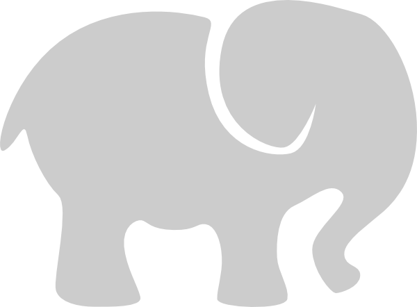 Shapes clipart elephant. Shape pencil and in