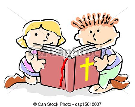 Bible kids children sitting. Studying clipart word clip art royalty free download