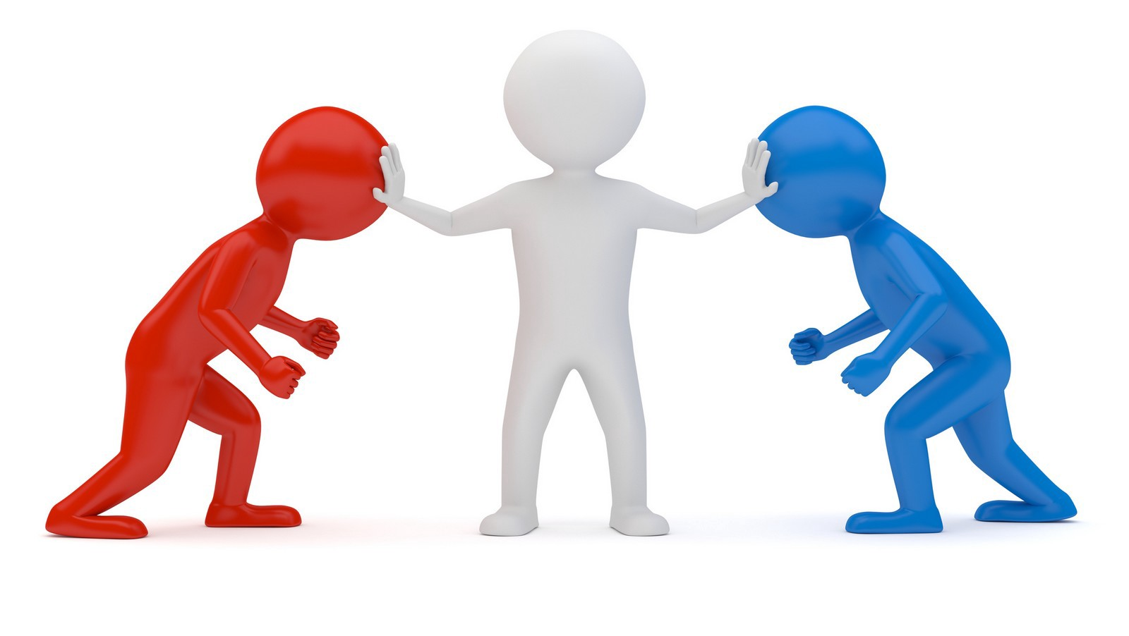 Conflict clipart. Breaking down conflicts in
