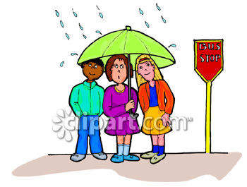 Kids an umbrella at. Sharing clipart svg black and white download