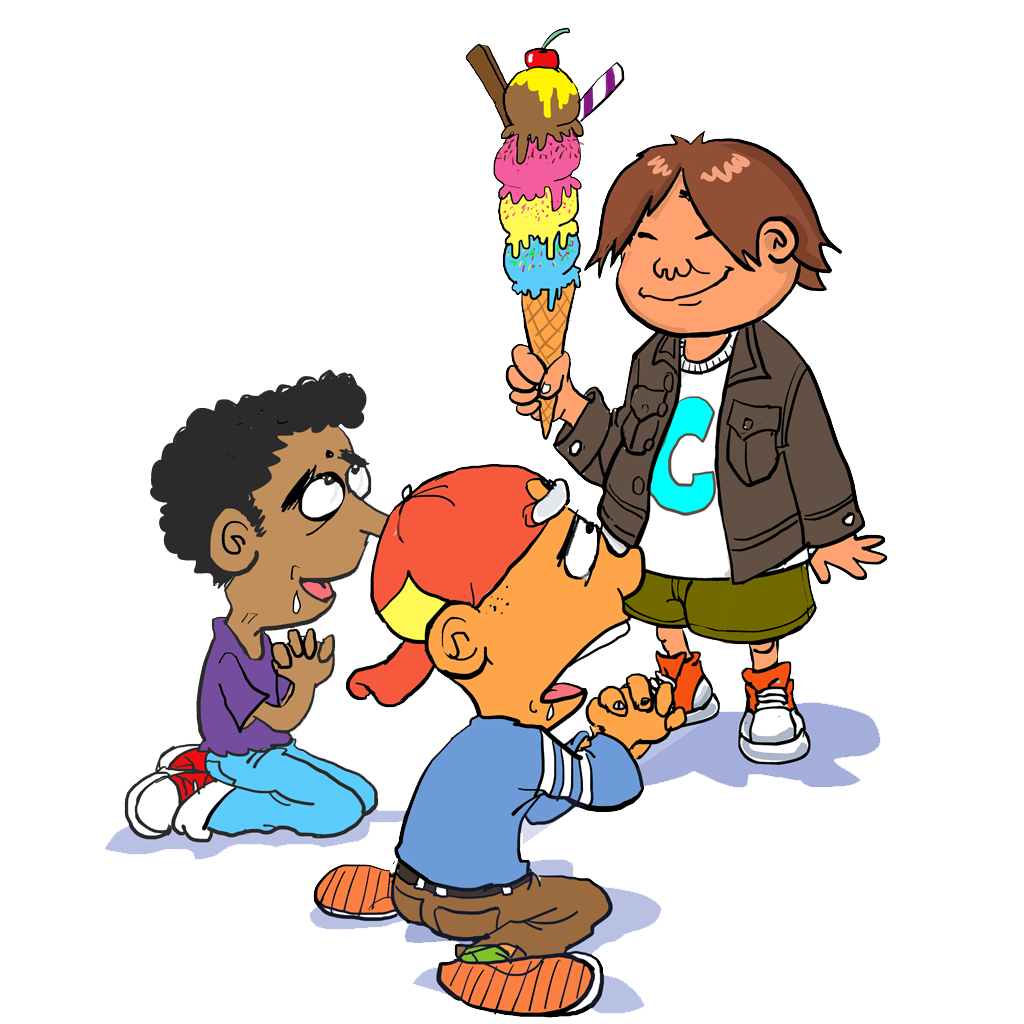 Sharing clipart kind word. Prx piece fawning