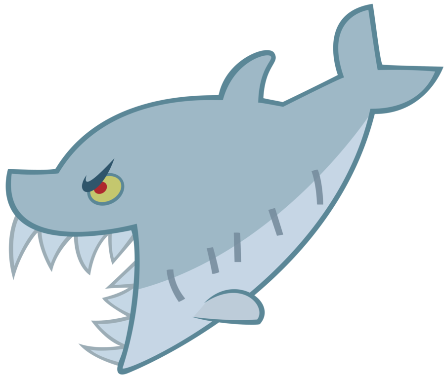 vector sharks simple