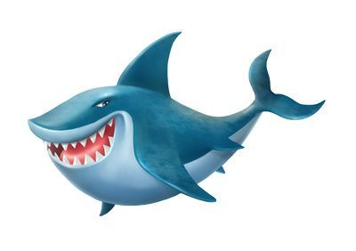 Sharks clipart. Free shark room pinterest
