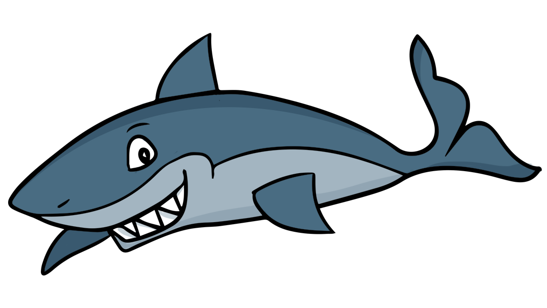 Shark clipart transparent background. Bull pencil and in