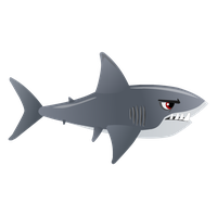 vector sharks transparent