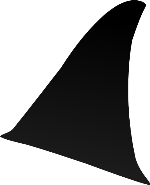 Shark fin png. Dorsal clip art at