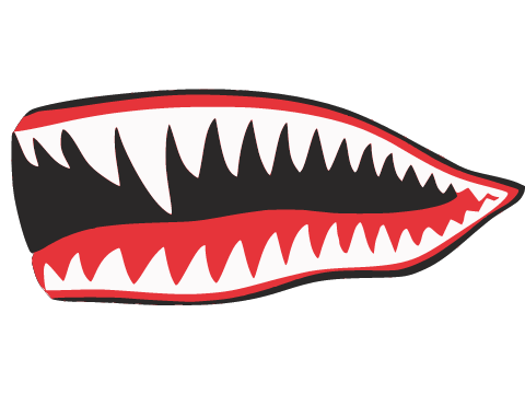 Shark mouth decal png. Tooth decals by zkye