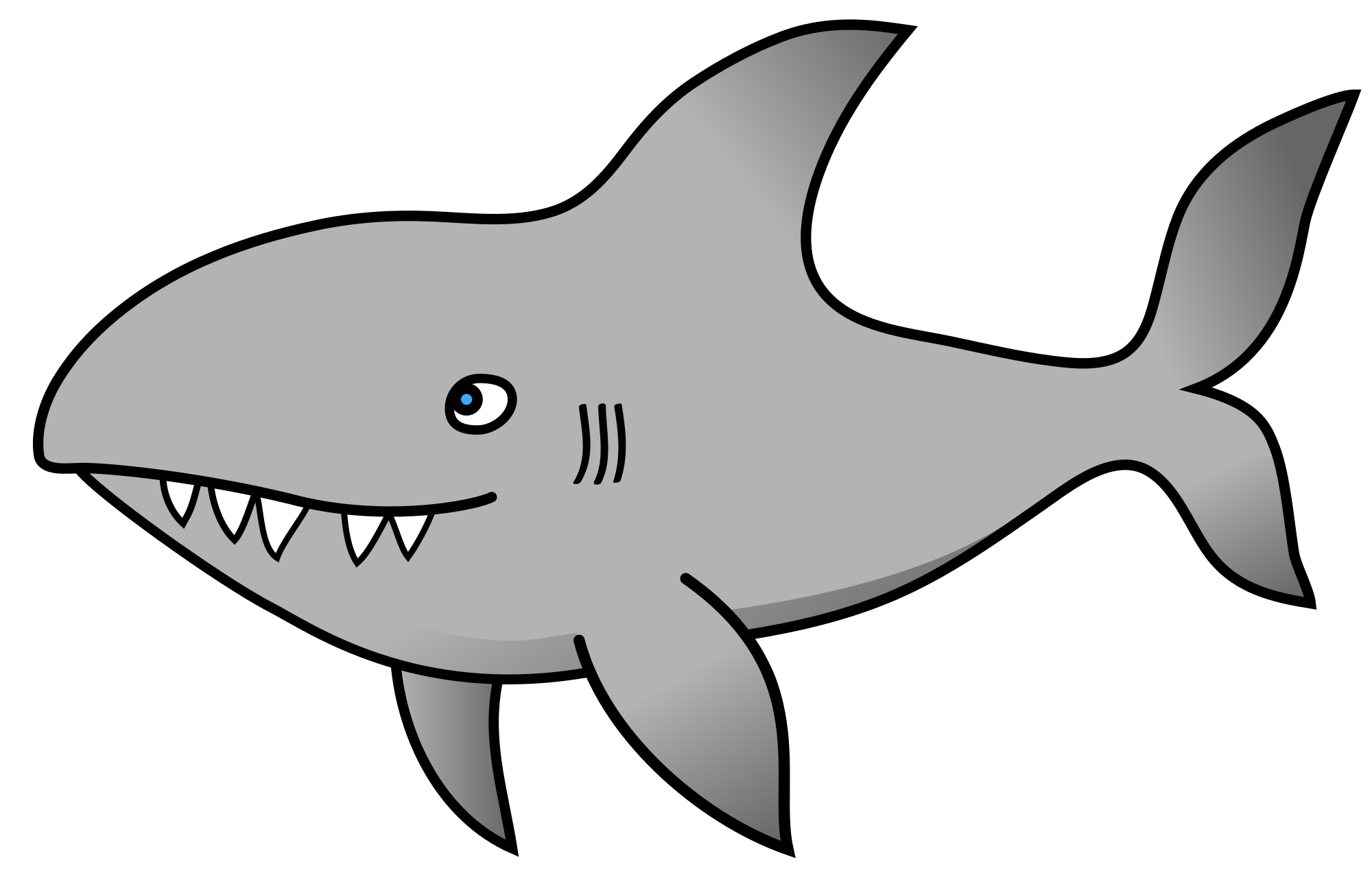 Vector sharks coloured. Today june at pm