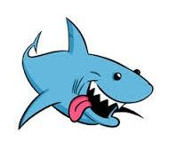 Sharks clipart. Shark craft ideas pinterest
