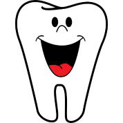 Sharp tooth png. With face and open