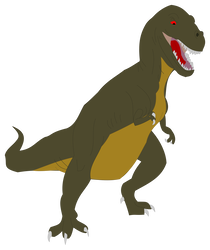 Sharp tooth png. Sharptooth poster pose by