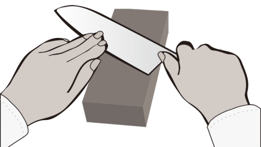 Sharpener clipart cheap. Sharpening with the stone